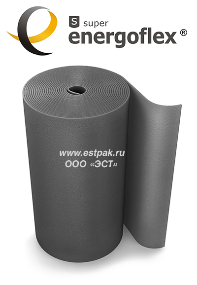 Теплоизоляция 28х6мм super protect-красная оболочка (2м)